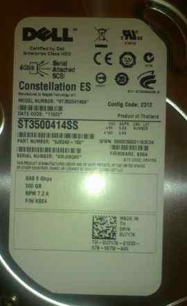 Жесткий диск Dell 500-GB 6G SAS Hard Drive