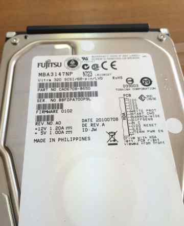 HDD Fujitsu MBA3147NP 147GB