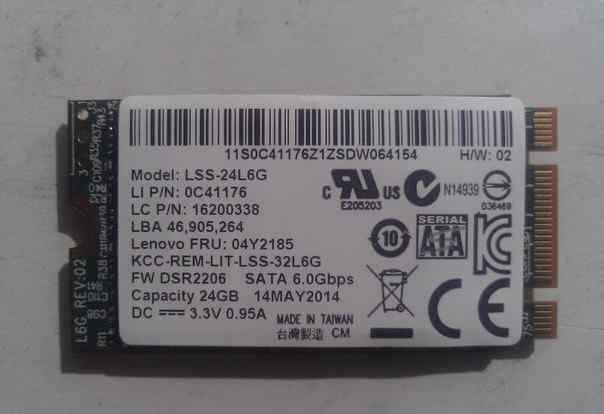 SSD на 24gb LSS-24L6G SATA 6.0