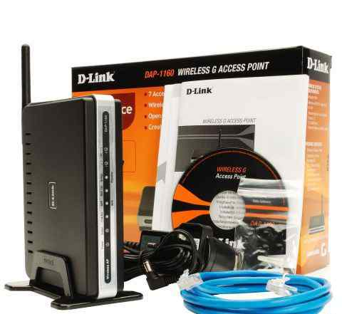 ����� ������� D-Link DAP-1160
