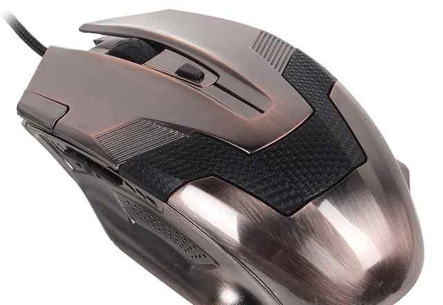 Мышка мигающая 3Cott 3C-WMG-302C Skull Crawler USB