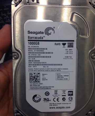 Жесткий диск Seagate ST1000DM003