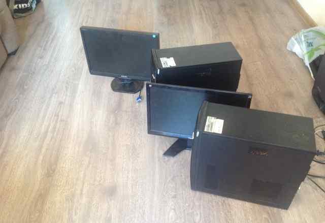 Системный блок HP 500B MT и монитор