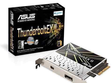 ThunderboltEX II pciе адаптер до20 гб/c только asu