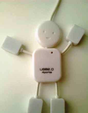 Разветвитель USB. 4 порта
