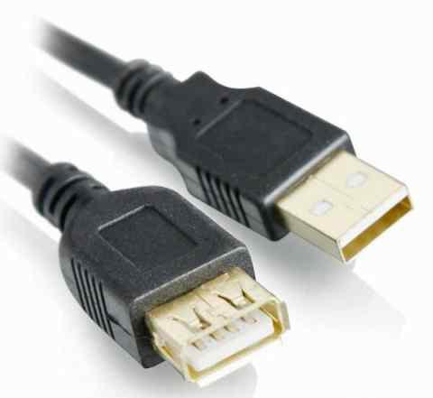 Удлинитель USB позолоченные контакты 3 метра