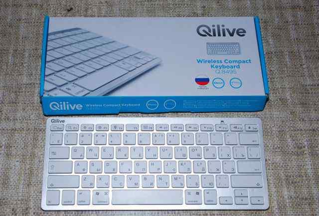 Беспроводная клавиатура wifi (Qilive) новая