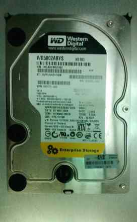 "Жесткий диск Western Digital WD5002abys 500GB 3""5"