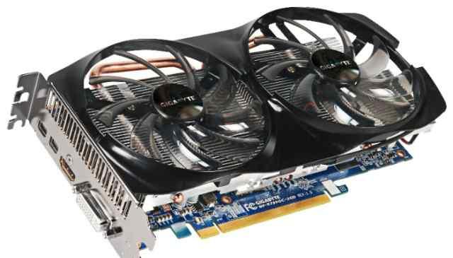 Видеокарта Gigabyte Radeon HD 7850 OC
