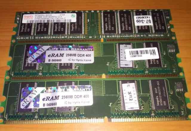 DDR sdram 1GB Hynix (PC3200, 400мгц)