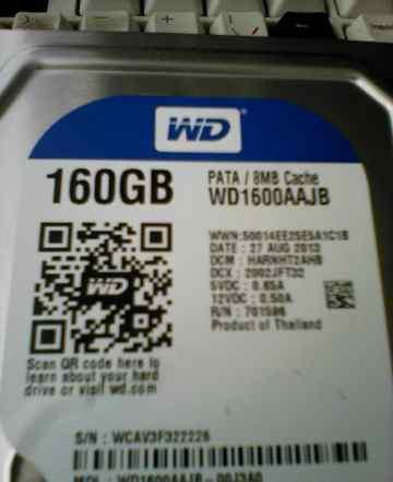 Western Digital WD1600aajb IDE