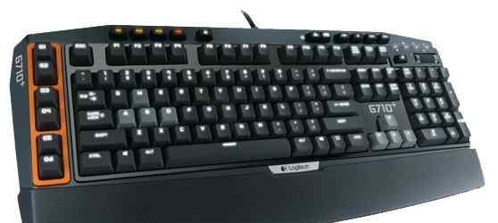 Игровая механическая клавиватура Logitech G710+