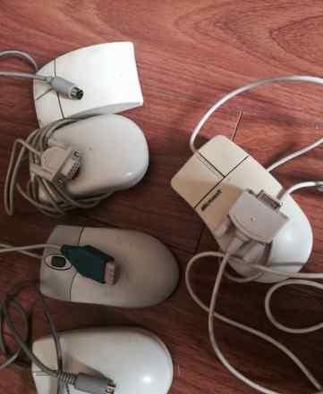 5 раритетных шариковых мышей
