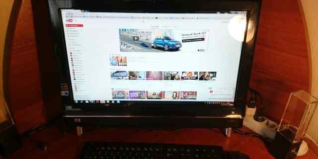 Компьютер-моноблок HP TouchSmart 600