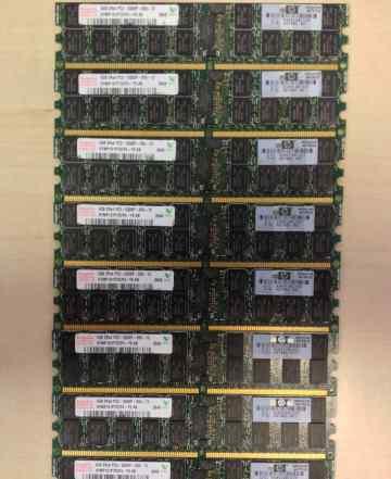 Память DDR2 Hynix 4GBx8 HP
