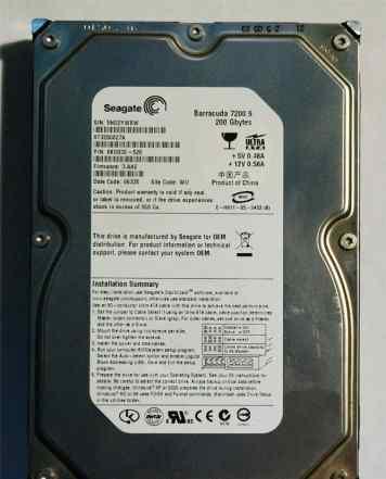 Жетский диск Seagate 200 GB IDE ST3200827A