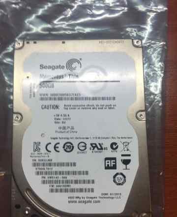 HDD Seagate Momentus Thin 500Gb