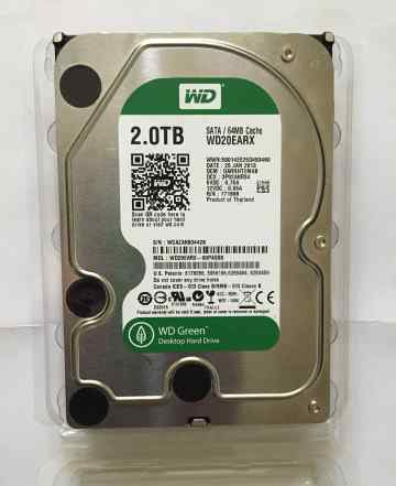 HDD Western Digital Caviar Green 2 Тб