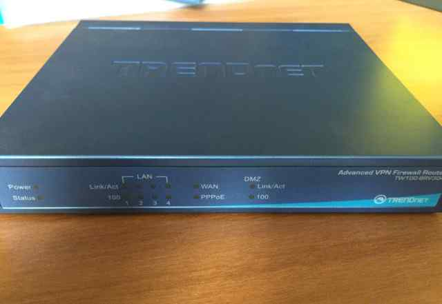 Маршрутизатор TrendNet TW100-BRV304