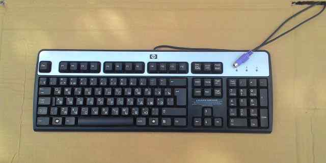 Б/у Клавиатура HP c разъёмом PS/2 оптом(600 штук)