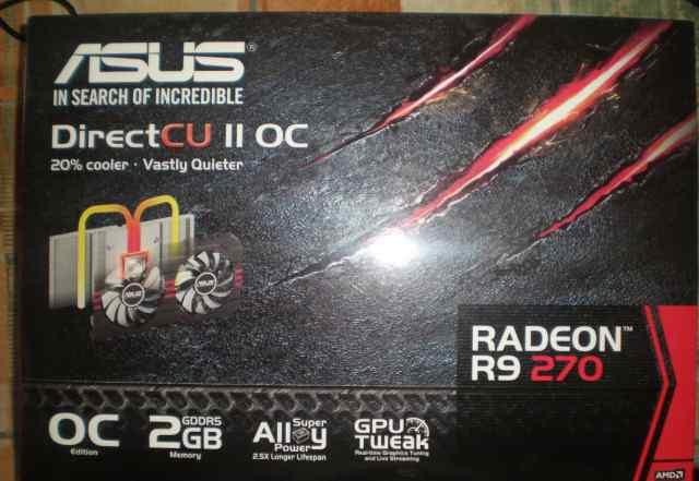 Видеокарта Radeon R9 270