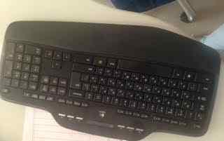 Беспроводная мультимедийная клавиатура Logiteck