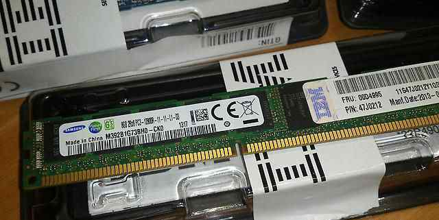Память серверная 8GB PC3-12800 DDR3-1600 ECC IBM