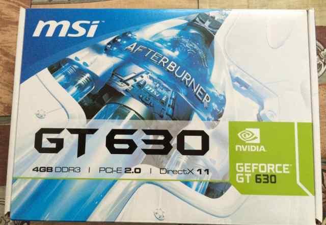 Видеокарта MSI N630GT-MD4GD3, 4Гб, DDR3, Ret