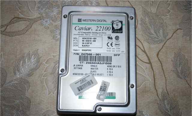 Жесткий диск HDD 2.1Gb