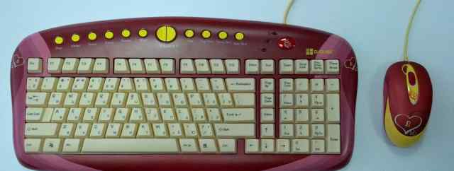 Комплект клавиатура + мышь G-Cube gkse-2728S