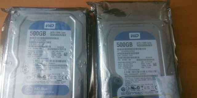 новые жесткие диски WD5000aakx