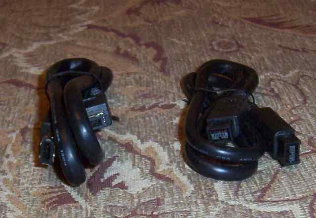 Кабели FireWire 400, 800 (ieee 1394a и 1394b)