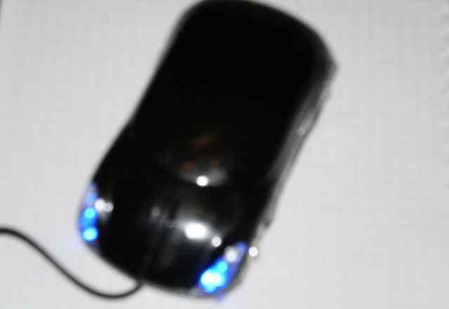 Мышь проводная 3cott в форме машинки