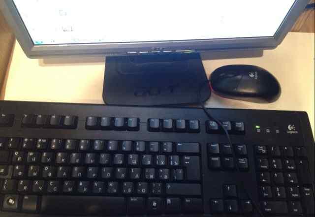 Компьютер в сборе (монитор, системный блок, и тд.)