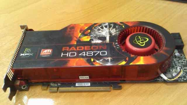 XFX ATI Radeon HD 4870 память 1024 Мб