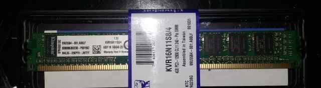 Оперативная память KVR16N11S8/4