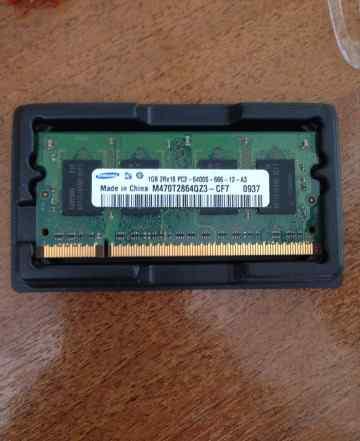 Samsung SO-dimm 1gb DDR2