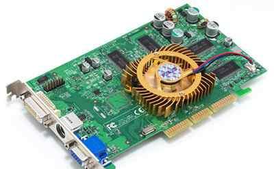 Видеокарта AGP 256мб asus V9520/TD