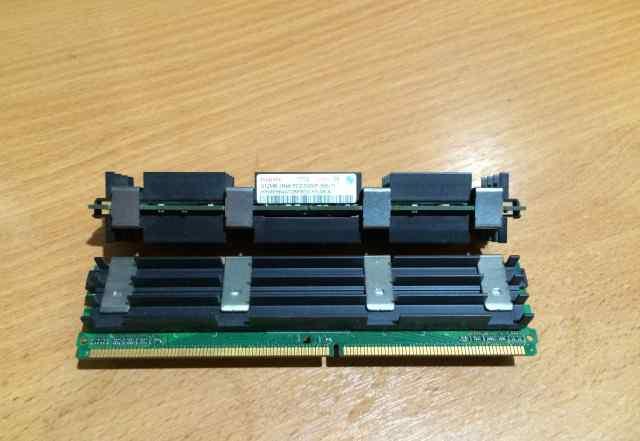 Hynix 1GB PC2-5300 ECC (2x512) для Mac Pro 1.1