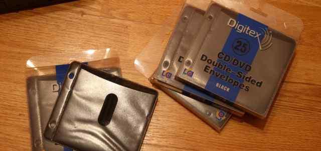 Конверты, упаковка для cd