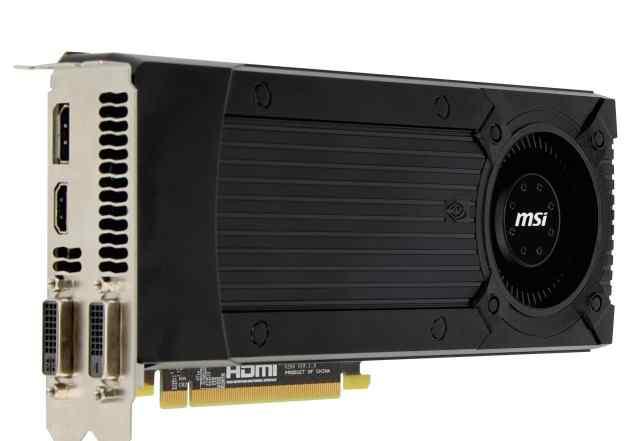 MSI gtx 670 2 Gb