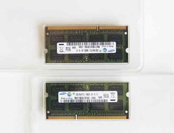 Samsung 4GB (2x2) DDR3 PC3-10600S