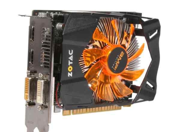 GTX 650 1 GB Zotac