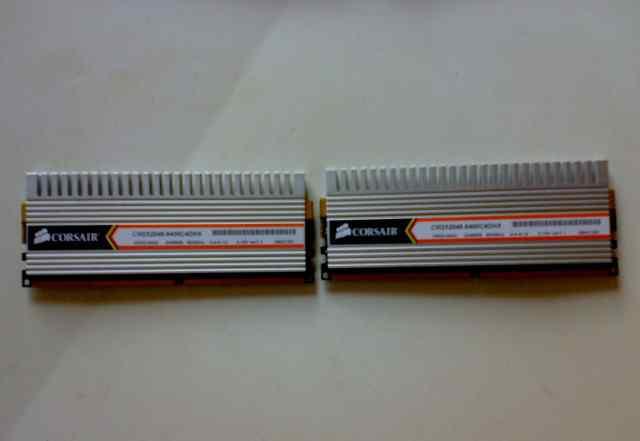 Corsair DDR-II 2x2Gb PC2-6400