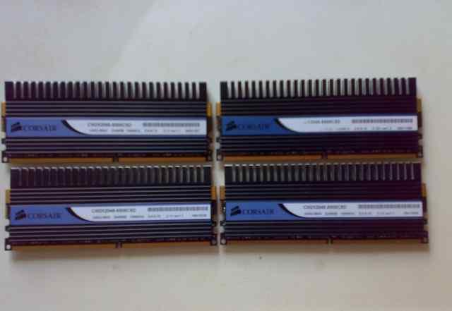 Corsair Dominator DDR-II 8Gb KIT 4x2Gb PC2-8500