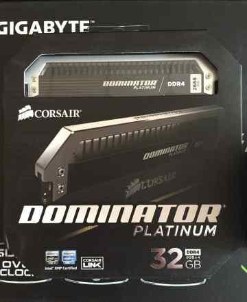 Corsair dominator 32 Gb DDR4