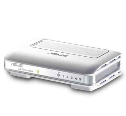 Коммутатор asus GX1005B 10/100 mbps 5-port