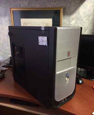 Системный блок- DualCore E5200 - 2.5, 4gb, 250 hdd