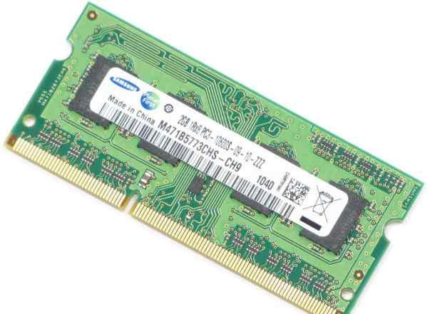 Память 2Gb DDR-III SO-dimm Samsung