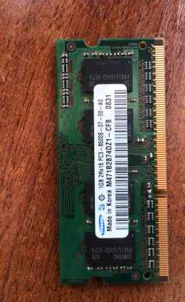Samsung 1GB 2Rx16 PC3 (DDR3)
